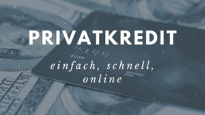 Privatkredit Soldan Versicherungsmakler
